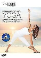 Element - Mattina E SERA Yoga DVD NUOVO DVD (abd5319)