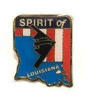 B-2 Stealth Bomber Spirit of Louisiana Lapel/Hat Pin Back