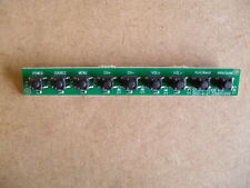 SZTHTFTV2106 Button and PCB Board Replacement Part Second Hand