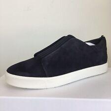 Vince sz 9.5 M Cantara Coastal Blue Suede Sneakers Slip On Women's Fashion NEW