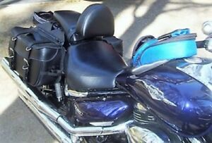 Custom Suzuki Boulevard M50 up to 2009 Motorcycle Driver Backrest Quick Release