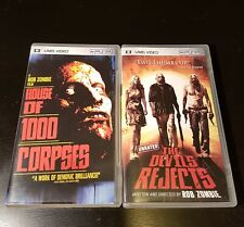 PSP UMD Devils Rejects House of 1000 Corpses Donnie Darko n More!