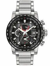 Citizen Men's Eco Drive World Time Perpetual Calendar A-T Watch AT9071-58E
