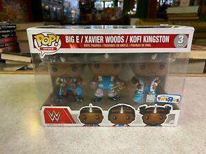 Funko POP! Deluxe WWE BIG E XAVIER WOODS KOFI KINGSTON 3 Pack - TOYS R US