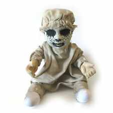 creepy baby doll zombie infant haunted house prop halloween party decor 12