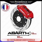 Kit 4 Stickers Etrier de Frein Abarth ref2; Auto voiture autocollant