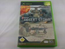 Conflict Desert Storm 2002 DVD Box Microsoft Xbox PAL Spiel Game guter Zustand