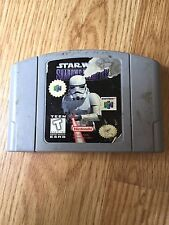 Star Wars: Shadows of the Empire Nintendo 64 N64 Game Cart Works NG1