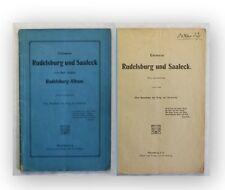 Corssens Rudelsberg und Saaleck um 1900 Ortskunde Landeskunde Geschichte Burg xy