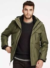 TIMBERLAND MEN'S RAGGED MOUNTAIN 3-IN-1 WATERPROOF FIELD JACKET A1RXK SZ:L