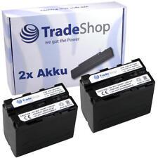 2x Akku für Sony HDR-AX2000 HDR-AX-2000 HDRAX2000