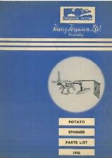 Ferguson Potato Spinner Parts Manual