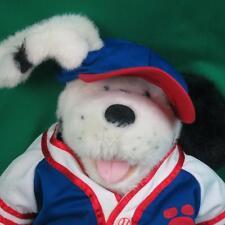 BIG RETIRED BUILD A BEAR DALMATIAN PUPPY DOG BASEBALL PLAYER JERSEY OUTFIT PLUSH