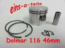 PISTONE adatto per DOLMAR 116 46mm Nuovo Qualità TOP