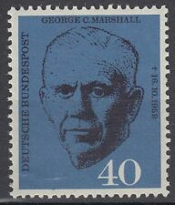 Germany federal BRD 1960 mié 344 ** Marshall premio nobel general política