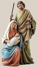 "Sale! New 6"" Holy Family Mary Madonna Joseph Jesus Baby Statue Figurine"