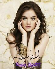 Lucy Hale Pretty Little Liars SIGNED AUTOGRAPHED 10X8 REPRO PHOTO PRINT