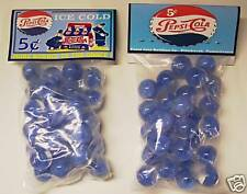 2 BAGS OF PEPSI COLA PEPSI COPS 5 CENTS PROMO MARBLES