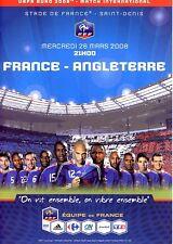 FRANCE v England (Friendly International) 2008