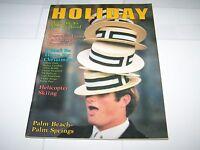 NOV/DEC 1974  HOLIDAY vacation magazine NEW ZEALAND - CALIFORNIA