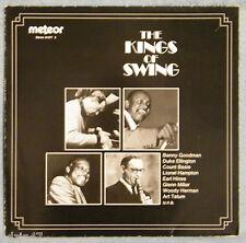 "♫ 33 T   THE KINGS OF SWING "" BENNY GOODMAN,DUKE ELLINGTON,COUNT BASIE,.....♫"