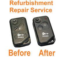 Para Land Rover Range Rover P38 2 botones llave mando reparación reacondicionado