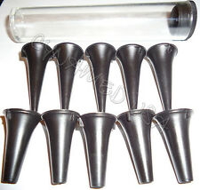 New Disposable Otoscope Specula 10 With Tube 25mm Amp 35mm