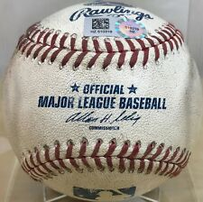 Dellin Betances Pitched Strikeout Career K #106 Yankees Game-Used 2014 Baseball