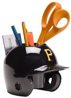 Pittsburgh Pirates MLB Baseball Schutt Mini Batting Helmet Desk Caddy