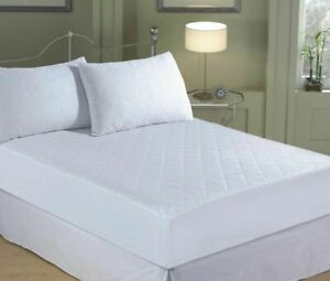 """EXTRA DEEP 12"""" QUILTED MATRESS MATTRESS PROTECTOR FITTED BED COVER:ALL SIZES"""