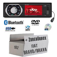 Caliber Radio für Fiat Bravo Brava 182 Bluetooth DVD CD MP3 USB SD TFT Auto Set