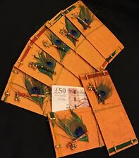 One Real Peacock Feather Cash Gift Envelope Salami Shagun Indian Wedding Diwali