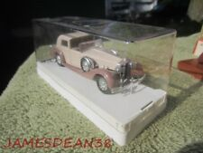 SOLIDO  DELAGE D 8/120 ~ AGE D'or  1/43 DIE-CAST  IN CASE AGE DOR