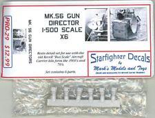 Starfighter Models 1/500 Mk.56 GUN DIRECTOR (6) for Revell Aircraft Carriers