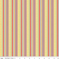 "Sheri McCulley Studio 24 pcs Cruiser Blvd 2.5/"" Fabric Strips Roll Riley Blake"