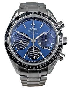 Omega Speedmaster Racing Blue Dial Steel 326.30.40.50.03.001