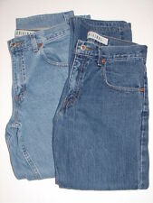Lot 2 Mens Arizona Jeans Co jeans Actual 31.5 x28 rehemmed (med & light) XCond