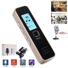 REGISTRATORE VOCALE AUDIO DIGITALE SCHERMO LCD MP3 RECORDER MEMORIA ESPANDIBILE