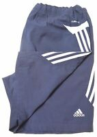 ADIDAS Mens Sport Shorts Large Blue Polyester  MM10