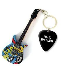 More details for paul weller the jam mini guitar keychain & plectrum - us