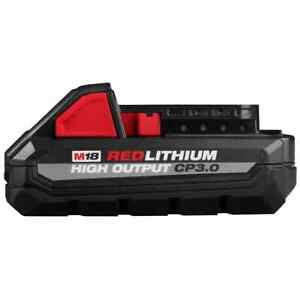 Milwaukee M18 REDLITHIUM HIGH OUTPUT CP3.0 Battery - MLW48-11-1835