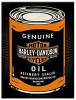 Harley Davidson Aceite Original Acero Imán de Nevera (Na )