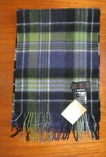 Barbour Country Check Lambswool scarf Blue/Green USC0106BL71