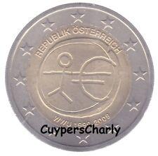 Oostenrijk 2009 2€ UNC 10 jaar Euro EMU