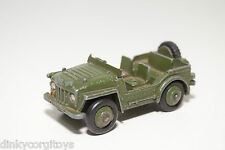 DINKY TOYS 674 AUSTIN CHAMP JEEP ARMY GREEN EXCELLENT CONDITION