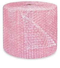 "1/2"" Large Bubble Wrap Cushioning Anti-Static Roll Padding 500' x 24"" Wide 500FT"