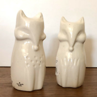 Kate Spade New York Cannon Street Woodland Fox Salt & Pepper Shakers Set New