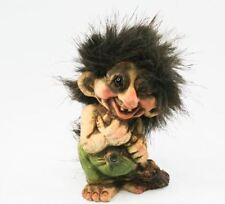 Nyform Troll with Broomstick Figure, NEW