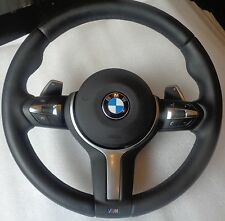 BMW M-Tech Sport F30 Multifunction Steering wheel airbag Shift paddles