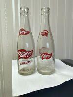 Vintage Soda Pop Beverage Bottle - Skipper, Pittsburg, Pa.